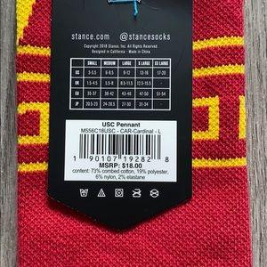 Stance Underwear & Socks - Stance Socks - USC Pennant